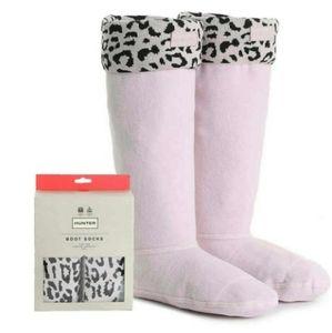 HUNTER Original Tall Leapord Print Boot Socks